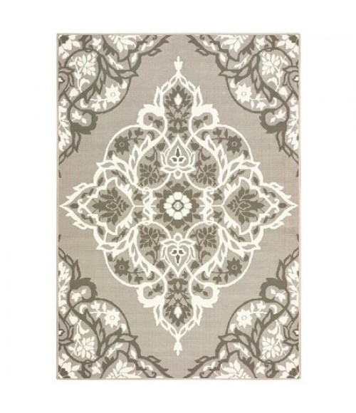 Central Oriental Tributary 6018-61-62 Area Rug