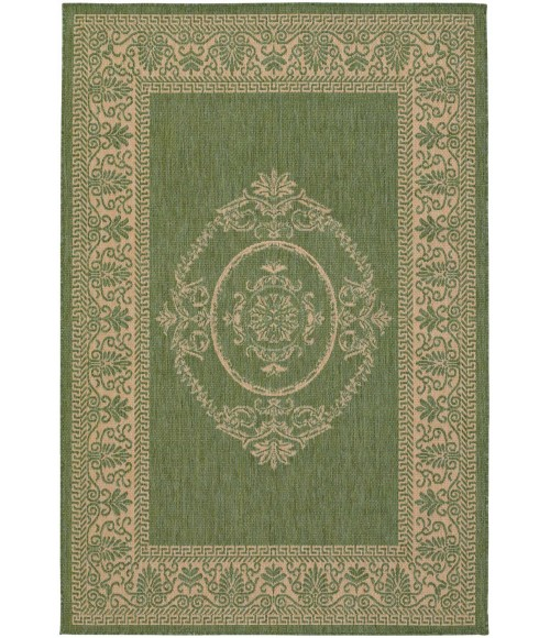 Couristan Recife Antique-Medallion-86Square Rug