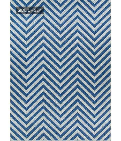Couristan OUTDURABLES SEAPORT R203-SEDN-23x119-RUNNER Area Rug