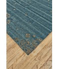 """Feizy QUING 6064F IN TEAL 7' 9"""" x 9' 9"""" Area Rug"""
