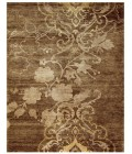 Feizy QUING 6067F IN BROWN 4' x 6' Area Rug