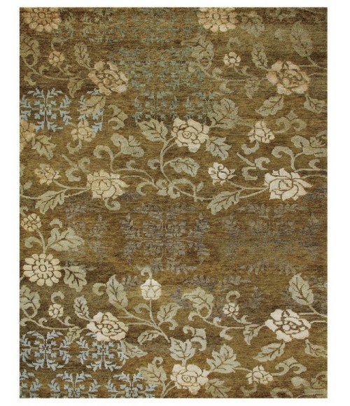 Feizy QUING 6068F IN OCHRE 2' x 3' Sample Area Rug