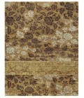 """Feizy QUING 6069F IN GOLD 7' 9"""" x 9' 9"""" Area Rug"""