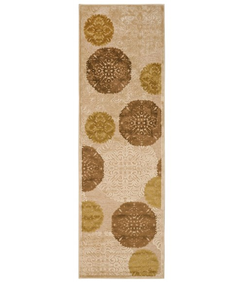 """Feizy SAPHIR 3795F IN IVORY 7' 6"""" X 10' 6"""" Area Rug"""