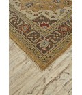 """Feizy USTAD 6112F IN GOLD/BROWN 7' 9"""" x 9' 9"""" Area Rug"""