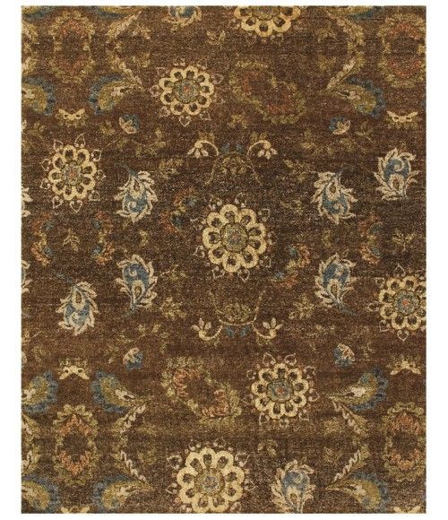 """Feizy AMZAD 6113F IN BROWN 2' 6"""" x 8' Runner Area Rug"""