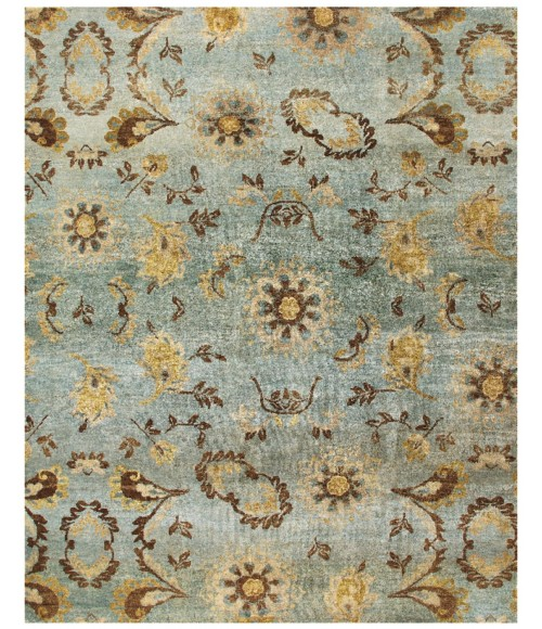 """Feizy AMZAD 6113F IN LIGHT BLUE 5' 6"""" x 8' 6"""" Area Rug"""