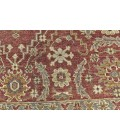 """Feizy ASHI 6128F IN RUST 1' 6"""" X 1' 6"""" Square Area Rug"""
