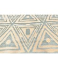 "Feizy SAPHIR MAH 3252F IN CREAM/SPA BLUE 7' 6"" X 10' 6"" Area Rug"