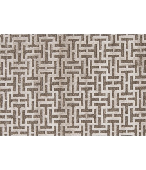 """Feizy SAPHIR ZAM 3097F IN PEWTER/LIGHT GRAY 7' 6"""" X 10' 6"""" Area Rug"""