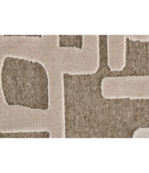 "Feizy SAPHIR ZAM 3986F IN IVORY/BEIGE 5' 3"" X 7' 6"" Area Rug"