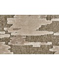 """Feizy SAPHIR ZAM 3987F IN PEWTER/GRAY 5' 3"""" X 7' 6"""" Area Rug"""