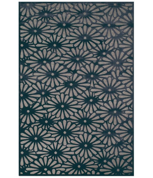 """Feizy SAPHIR CALLO 3257F IN GRAY/CHARCOAL 5' 3"""" X 7' 6"""" Area Rug"""