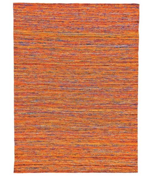 Feizy ARUSHI 0504F IN ORANGE/MULTI 5' x 8' Area Rug