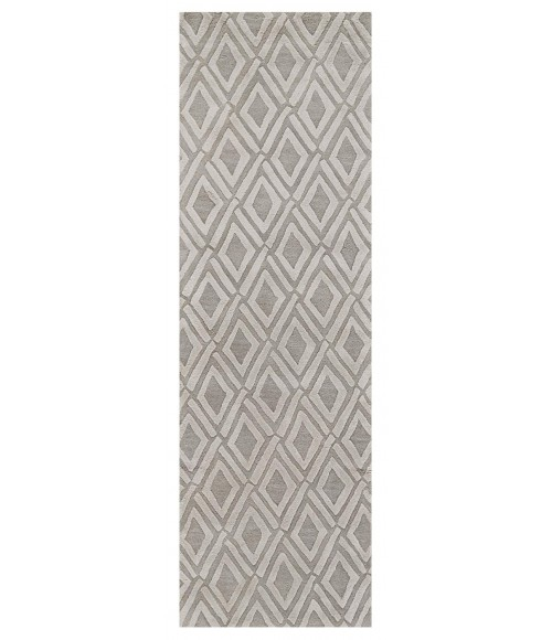 Feizy PORTICO 8497F IN LIGHT GRAY 5' x 8' Area Rug