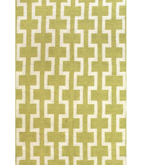 Feizy SARGASSO II 0629F IN GREEN/WHITE 4' x 6' Area Rug