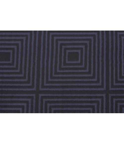 Feizy AZERI 3844F IN BLACK/CHARCOAL 5' x 8' Area Rug