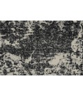 "Feizy AZERI 3845F IN BLACK/ECRU 2' 10"" X 7' 10"" Runner Area Rug"