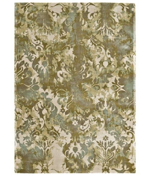 """Feizy ABBEY 3323F IN MOSS 3' 2"""" X 5' 4"""" Area Rug"""