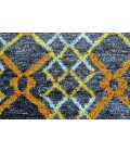 """Feizy TORTOLA 6235F IN AMBER 5' 6"""" x 8' 6"""" Area Rug"""