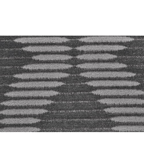 """Feizy PRASAD 3679F IN CHARCOAL 2' 10"""" X 7' 10"""" Runner Area Rug"""