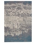 """Feizy AKHARI 3676F IN TURQUOISE 1' 8"""" X 2' 10"""" Sample Area Rug"""