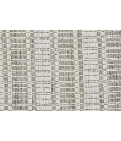Feizy ODELL 6385F IN TAUPE 2' x 3' Sample Area Rug