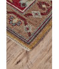 Feizy PIRAJ 6451F IN RED/RED 4' x 6' Area Rug