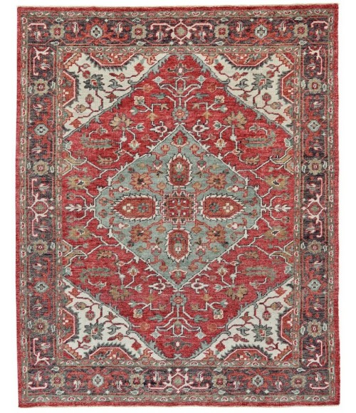 """Feizy PIRAJ 6453F IN IVORY/CHARCOAL 7' 9"""" x 9' 9"""" Area Rug"""