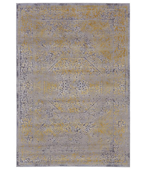 """Feizy WALDOR 3971F IN GOLD/SAND 10' X 13' 2"""" Area Rug"""