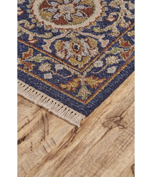Feizy AMHERST 0758F IN NAVY 2' x 3' Sample Area Rug