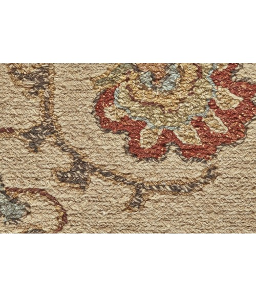 Feizy AMHERST 0759F IN BEIGE 2' x 3' Sample Area Rug