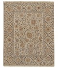 """Feizy AMHERST 0759F IN LIGHT GRAY 7' 9"""" x 9' 9"""" Area Rug"""