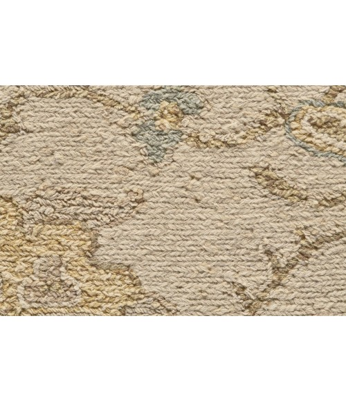 """Feizy AMHERST 0759F IN SAND 5' 6"""" x 8' 6"""" Area Rug"""