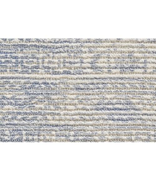 Feizy REAGAN 8686F IN BLUE 8' x 8' Round Area Rug