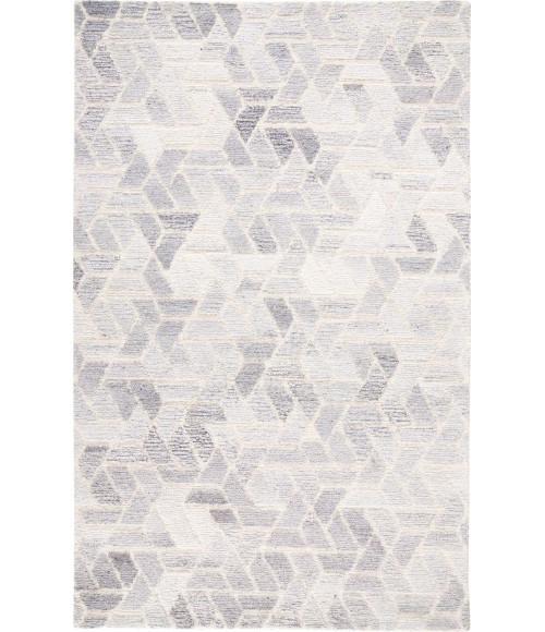 Feizy ASHER 8767F IN LIGHT GRAY/NATURAL 5' x 8' Area Rug
