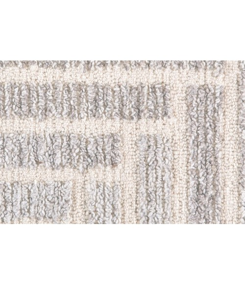 Feizy ASHER 8768F IN TAUPE/NATURAL 2' x 3' Sample Area Rug