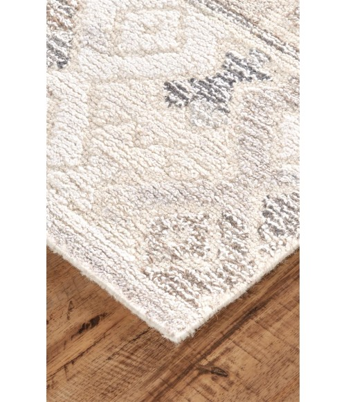 Feizy ASHER 8770F IN BROWN/NATURAL 10' X 10' Round Area Rug