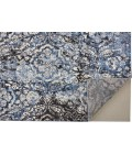 """Feizy AINSLEY 3897F IN CHARCOAL 4' 3"""" X 6' 3"""" Area Rug"""