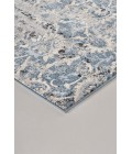 """Feizy AINSLEY 3901F IN BLUE/IVORY 4' 3"""" X 6' 3"""" Area Rug"""