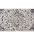 Feizy ARMANT 3907F IN CHARCOAL/MULTI 2' x 3' Sample Area Rug