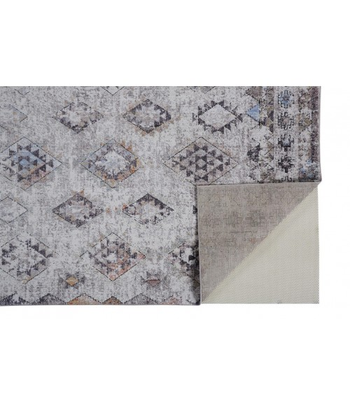 """Feizy ARMANT 3910F IN SAND/MULTI 4' X 5' 9"""" Area Rug"""
