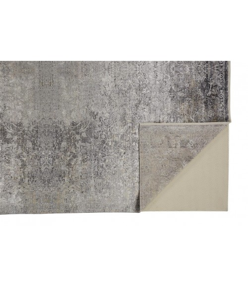 """Feizy SARRANT 3964F IN STONE 7' 10"""" X 9' 10"""" Area Rug"""