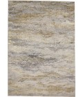 """Feizy AURA 3735F IN GOLD/GRAY 1' 8"""" X 2' 10"""" Sample Area Rug"""