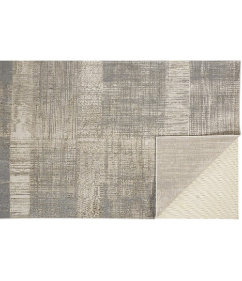 """Feizy AURA 3736F IN GOLD/BEIGE 10' X 13' 2"""" Area Rug"""