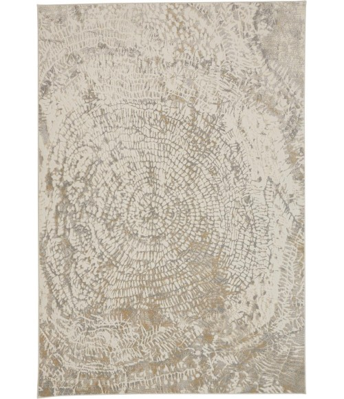 """Feizy PARKER 3702F IN SILVER / IVORY 7' 9"""" X 10' Area Rug"""