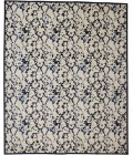 """Feizy REMMY 3515F IN IVORY/BLUE 2' 10"""" X 7' 10"""" Runner Area Rug"""