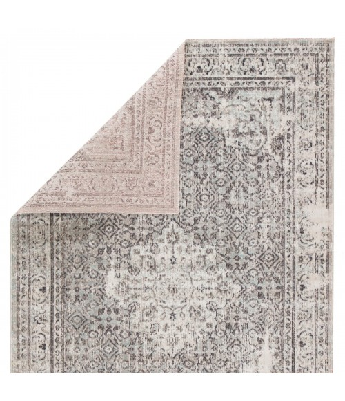 "Jaipur Living Langley Indoor/ Outdoor Medallion Gray/ Blue Runner Rug (2 8""X10 )"