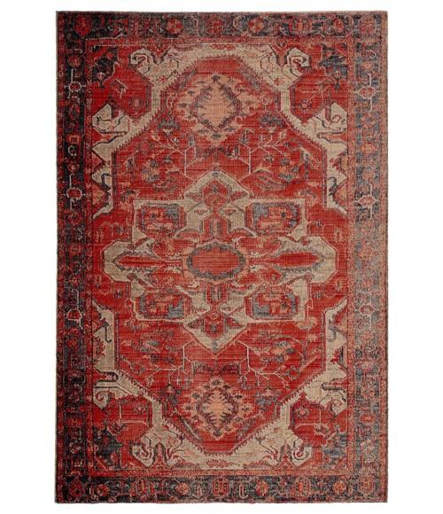 Jaipur Living Leighton Indoor/ Outdoor Medallion Red/ Blue Area Rug (10 X14 )