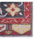 Jaipur Living Miner Indoor/ Outdoor Medallion Red/ Yellow Area Rug (2 X3 )